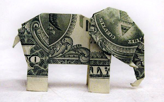Adsense Youtube Money Origami_elephant
